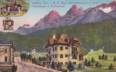 ITALIE - INNICHEN - HOTEL MAYRS - RAZÍTKO - 4-IG79