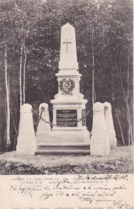 SVIB - POMNÍK POLNÍCH MYSLIVCŮ 1866 - 16-AD23