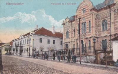 MAĎARSKO - SATORALJAUJHELY - SYNAGOGA - 16-AD99