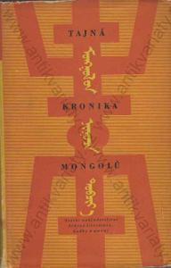 Tajná kronika Mongolů Pavel Poucha SNKLHU 1955