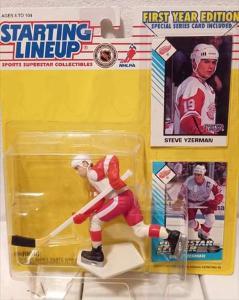 Starting lineup NHL figurka - Steve Yzerman