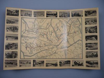 BESKYDY v zimě - Zimní turistická mapa - Javorníky, Bečva, Vsetín