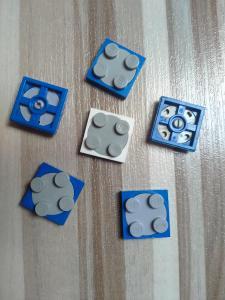Lego otočné destičky - kostičky