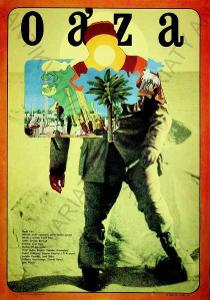 Oáza Zdeněk Ziegler film plakát A3 1972 Brynych