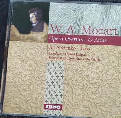 CD W.A.Mozart - Opera Overtures & Arias