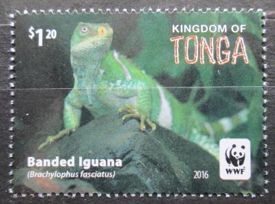 Tonga 2016 Leguán fidžijský, WWF Mi# 2102 0585A