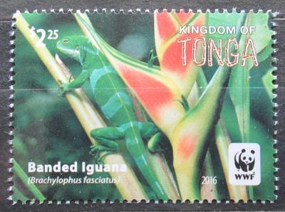 Tonga 2016 Leguán fidžijský, WWF Mi# 2104 0585A