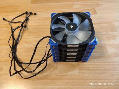 Corsair ML140 PRO LED modrá