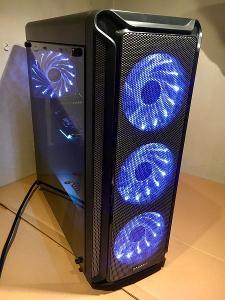 [nové] Herní PC: INTEL i5-9400/ 16GB/ Nvidia RTX 2060/ SSD+HDD/ WIN10