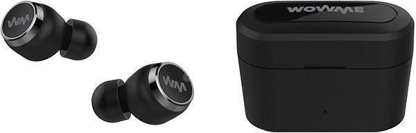 Nefunkční a pouze pro podnikatele: Bezdrátová sluchátka WowME BTH108Q