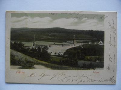 Mníšek Liberec Přehrada Einsiedel Reichenberg