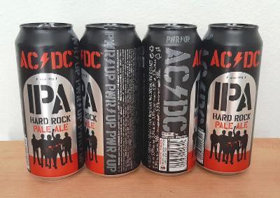 Pivní plechovka  AC/DC  HARD ROCK - 2021