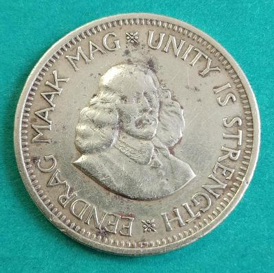 Jihoafrická republika 1/2 cent 1962