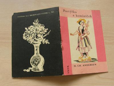 Pastýřka a kominíček / H.CH.Andersen * 1964 * pohádkový sešitek č.8