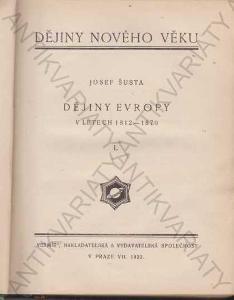Dějiny Evropy v letech 1812 - 1870