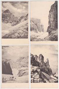Itálie, Dolomity, Sellagruppe (8 ks) 1919