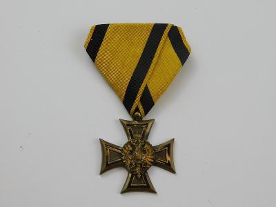 R-U vyznamenání důstojnický křiž - 40 let služby