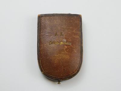 """R-U vyznamenání """"2. DECEMBER 1873"""" v původní etui !!!"""