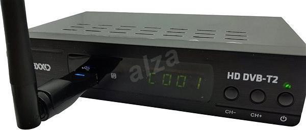 Nefunkční a pouze pro podnikatele: Set-top box Maxxo DVB-T2 HEVC/H.265