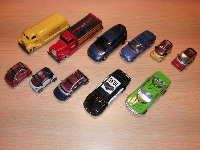 Sada autíček - různé velikosti