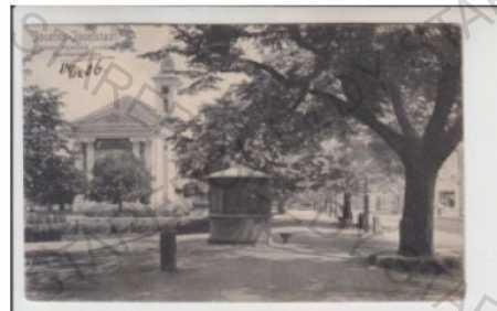Josefov (Josefstadt) - Náchod, alej, kostel