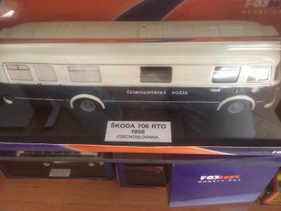 Škoda 706 RTO poštovní  edice Foxtoys