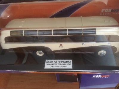 Škoda 706 RO PULLMAN  edice Foxtoys