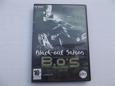 Black - out Saigon stará PC hra