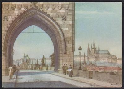 Kubašta pražské pohlednice 3