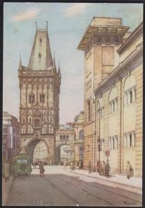 Kubašta pražské pohlednice 5