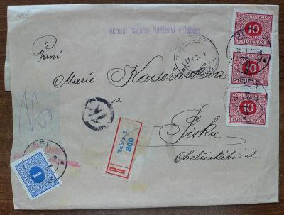 R zásilka - Plzeň 1