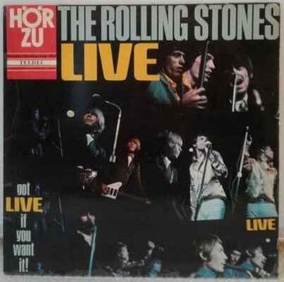 LP The Rolling Stones - Got Live If You Want It! 1967
