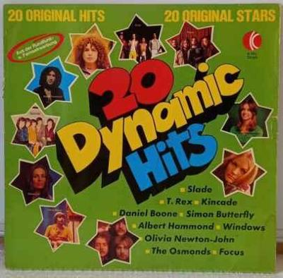 LP Various - 20 Dynamic Hits, 1973
