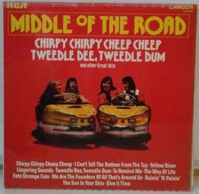 LP Middle Of The Road - Great Hits
