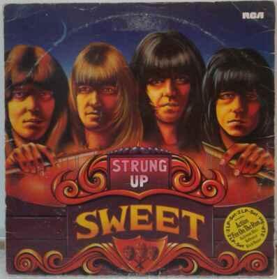 2LP The Sweet - Strung Up, 1975 EX