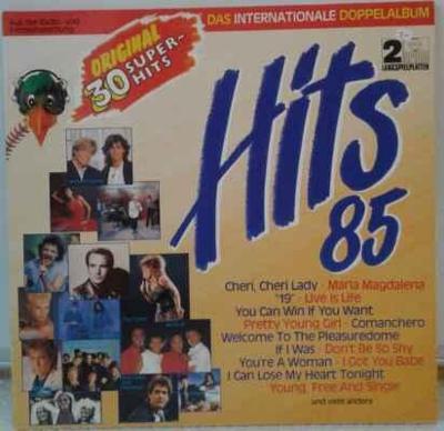 2LP Various - Hits 85 • Das Internationale Doppelalbum, 1985 EX
