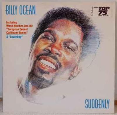 LP Billy Ocean - Suddenly, 1984 EX
