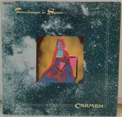 LP Carmen - Fandangos In Space, 1973 EX