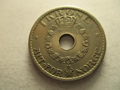 Norsko - 1 Krone z roku 1940
