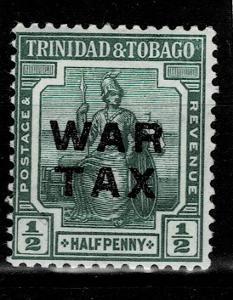 Trinidad a Tobago 1917 Mi 87* - Nr.124