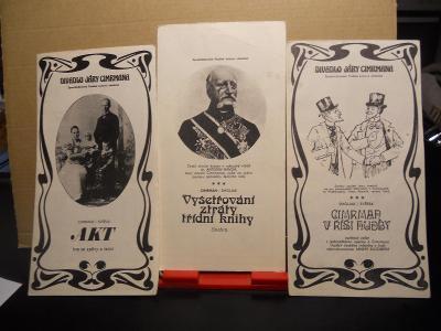 Divadelní programy , Cimrman a další