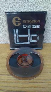 Magnetofoná páska  EMGETON DP 25 - 180 m 10 cm
