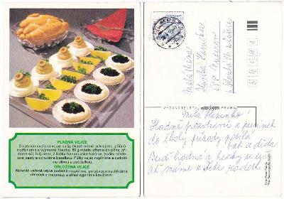 Recepty na pohlednici