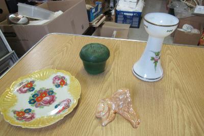 Porcelán a sklo