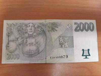 2000,- Kč série E10 , 2007