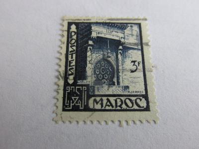 Známky  Maroko 1949, Fontny a kašny