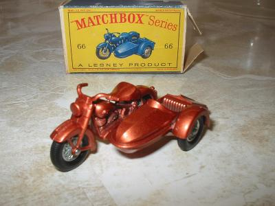 Matchbox 66 Harley