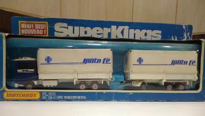 Matchbox  Super Kings K-21 FORD TRANSCOTINENTAL