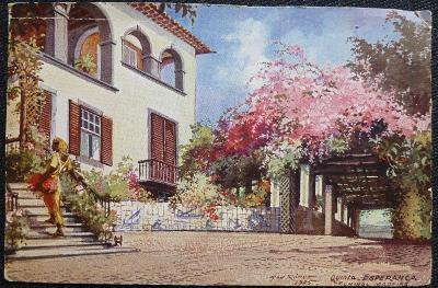 Max Römer - Madeira-Funchal - venkovská stavba - 1925