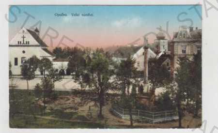 Opočno (Rychnov nad Kněžnou), náměstí, částečný zá